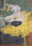 The Clowness Cha-U-Kao (mk09) Henri de toulouse-lautrec